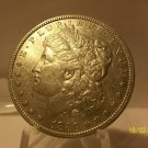 1880 #4  90% Silver Morgan Dollar.