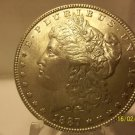 1887 #2  90% Silver Morgan Dollar.