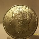 1890 #3 90% Silver Morgan Dollar.