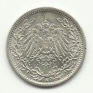 1915-A #1 Unc. 90% Pure Silver 1/2 Mark