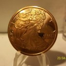 Gem BU 2011 Walking Liberty One AVDP OZ.