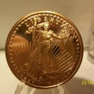 Gem BU 2012 Walking Liberty One AVDP OZ.