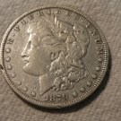 1879-O #1  90% Silver Morgan Dollar.