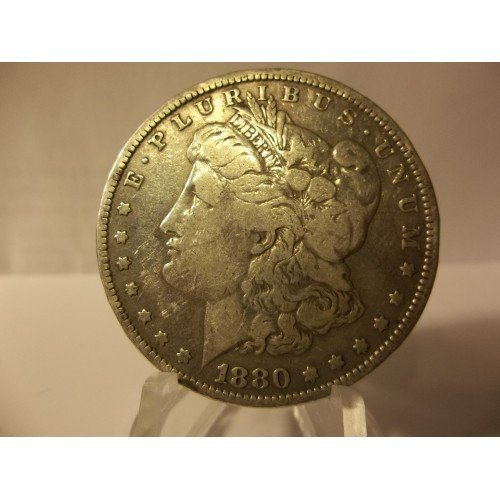 1880 #3 90% Silver Morgan Dollar.