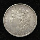 1882 O/S #1 MORGAN SILVER DOLLAR. TOP 100; VAM 4