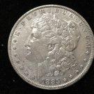 1885 #3  90% Silver Morgan Dollar.