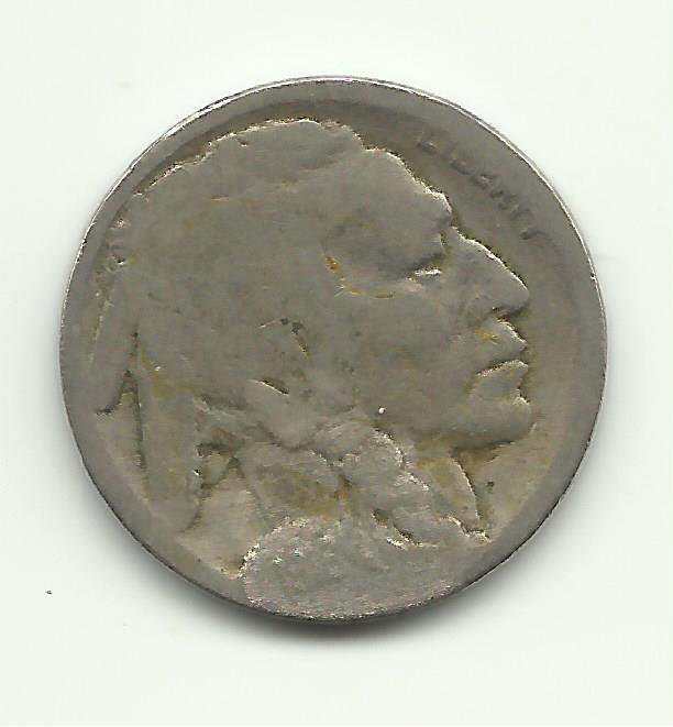 1916 #12 Buffalo Nickel.