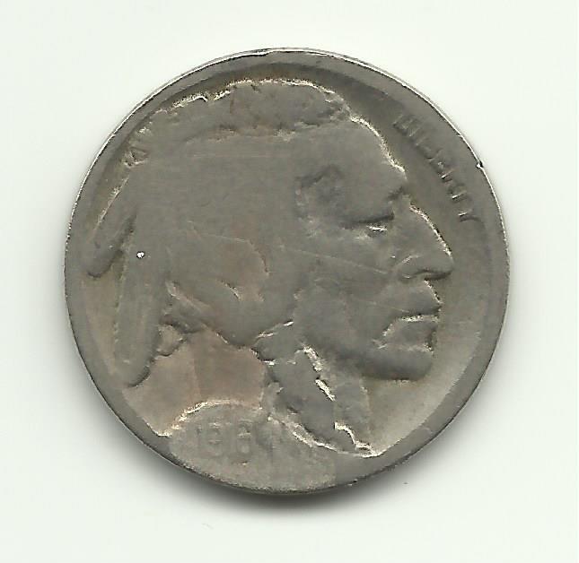 1916-D #2 Buffalo Nickel.