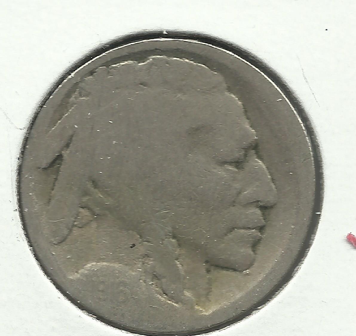 1916-D #3 Buffalo Nickel.