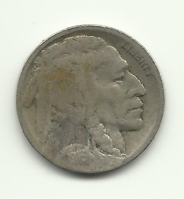 1916-D #4 Buffalo Nickel.