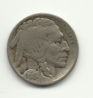 1916-D #7 Buffalo Nickel.