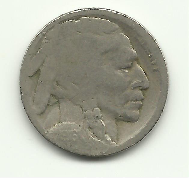 1916-S #4 Buffalo Nickel. Comes in a 2x2 coin holder.