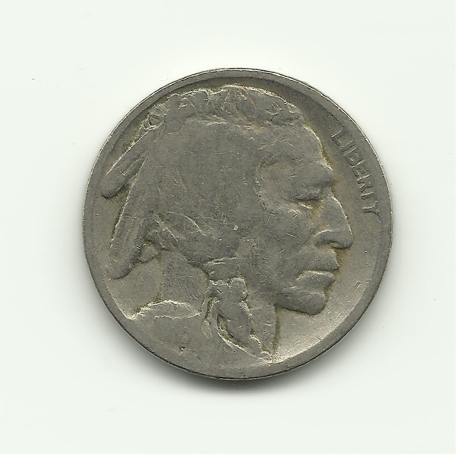 1916 #1 Buffalo Nickel.