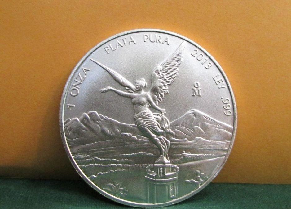 2013 1 oz Mexican Silver Libertad