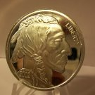 2002 Proof Silver Round Bullion - 1 Troy OZ .999 Fine Silver Indian Head.