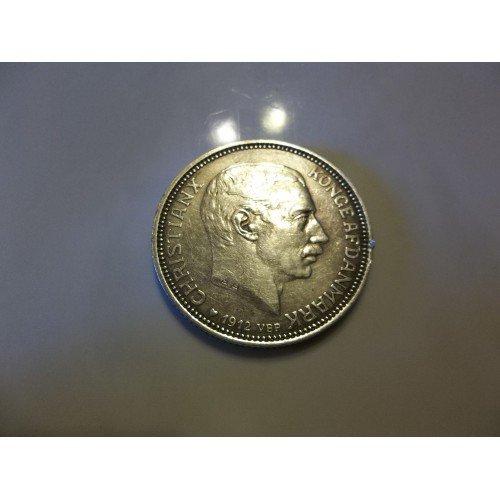 1912 Denmark - Silver 2 Kroner