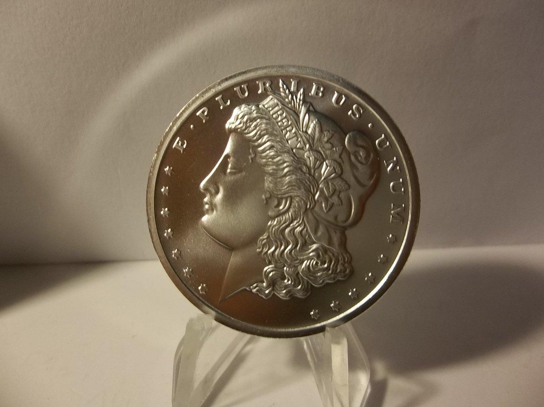 BU Morgan Dollar Bullion is composed of 1 Troy Ounce of .999 Fine Silver