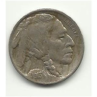 1913 TY-2 #1 Buffalo Nickel with full horn