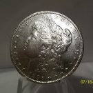 1896 #7 UNC 90% Silver Morgan Dollar.