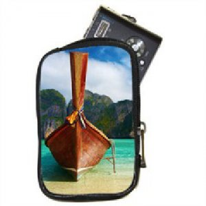 Custom PHOTO Compact Camera Leather Case