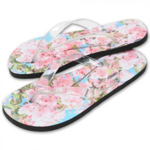Custom Photo Womens FLIP FLOPS Sandals Shoes sz  SM, MED, LG, XL