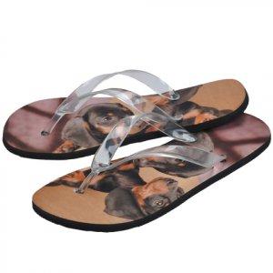 Custom Photo Men's FLIP FLOPS Sandals Shoes sz  SM, MED, LG, XL
