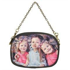 Custom Leather Chain Bag purse handbag tote