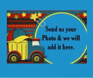Boy Frame add YOUR photo Small 30 x 40 PLUSH Velveteen Fleece Photo Throw Blanket Made in USA