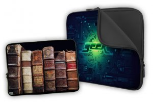 Custom 17 in. Laptop Case Cover with your photo fits up to 17 inch netbook Laptops #CT