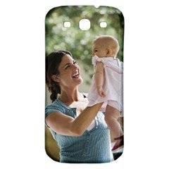 Custom Samsung Galaxy S3 S III Classic Hardshell Back Case with your photo #AN