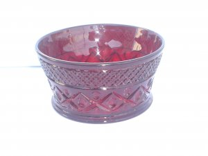 Imperial Cape Cod red finger bowl