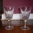 Waterford Lismore Goblet set of two
