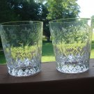 Rogaska  Gallia double old fashion tumbler set of 4