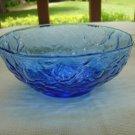Seneca Driftwood Delphine blue cereal bowl