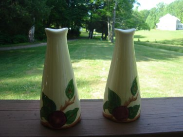 Franciscan Apple oversize salt and pepper shaker