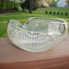 Vintage Murano glass ashtray Mid Century Modern