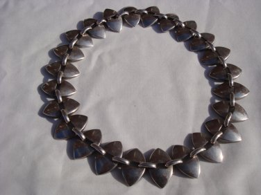 George Jensen Necklace Designed by Nanna Ditzel Circa 1950's No.106