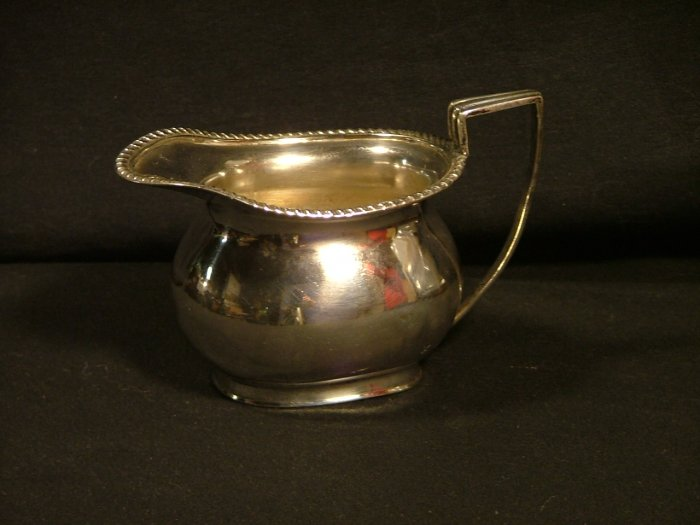 James Dixon & Sons Creamer, Silver Plated c.1940