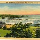 Niagara Falls Canada Postcard, Horseshoe Falls c.1936