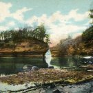 Kilbourn Wisconsin Postcard, Lone Rock, Dells of the Wisconsin River c.1900