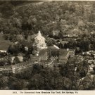 Vintage Hot Springs Virginia Postcard, The Homestead from Mountain Top Trail c.1910