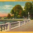 Jacksonville Florida Postcard, Springfield Park c.1934