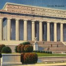 Washington D.C. Postcard, The Lincoln Memorial, Full Color c.1944