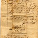 Handwritten Swiss Legal Document, Marriage Contract c.1838