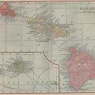 Map of Hawaii, C.S. Hammond & Co. c.1910