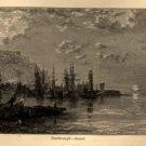 Edmund J. Niemann, Scarborough at Sunset, Art Journal Print c.1876