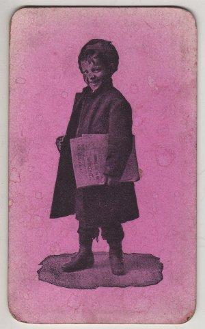 Toledo Newsboy's Association Membership Card c.1892