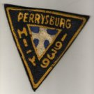 Varsity Jacket Patch, Triangular, Perrysburg High School, Ohio c.1939