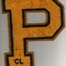 Varsity Jacket Letter Patch, CL, Perrysburg High School, Ohio c.1938