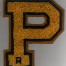 Varsity Jacket Letter Patch, R, Perrysburg High School, Ohio c.1938
